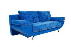 sofa d'isolement à l'arrière-plan blanc Photos stock