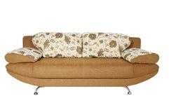 Sofa (d'isolement) Photographie stock libre de droits