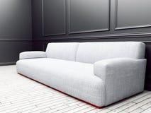 Sofa dans la chambre, 3d Photographie stock