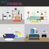 Sofa dans le salon moderne intérieur de style Images stock