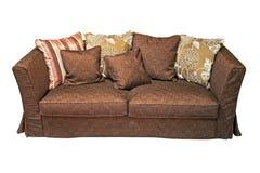 Sofa de Brown images libres de droits