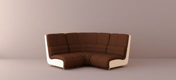 Sofa de Brown Photo stock