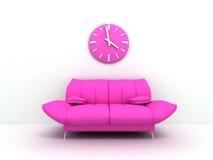 Sofa de charme Photographie stock