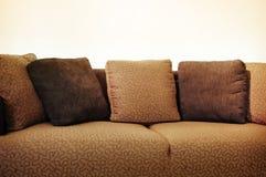 Sofa de chocolat Image stock
