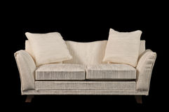Sofa de deux seater Photos stock