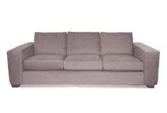 Sofa de divan de siège du gris trois Images libres de droits