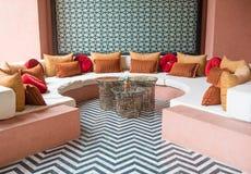 Sofa de luxe Photographie stock libre de droits