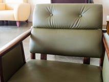 Sofa de mauvais sentiment Image stock