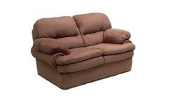 Sofa de suède pour deux Photo stock