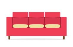 Sofa de vintage Image libre de droits