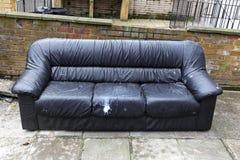 Sofa disposal Royalty Free Stock Photography
