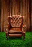 Sofa en cuir Photos stock