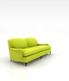 Sofa en cuir Photo stock