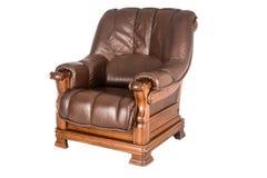 Sofa en cuir classique photo libre de droits