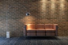 sofa för framförande 3d vektor illustrationer
