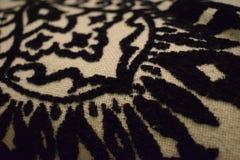 sofa för material modell för design texturerad retro Fotografering för Bildbyråer