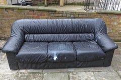 Sofa Furniture Disposal royalty free stock photos