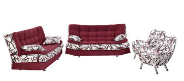 Sofa furniture Stock Photography