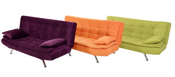 Sofa furniture Royalty Free Stock Image