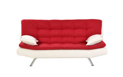 Sofa furniture. Isolated on white background Stock Images