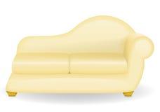 Sofa furniture vector illustration Stock Image