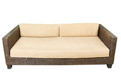 Sofa Furniture Weave Bamboo Chair Royalty Free Stock Photo