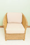 Sofa furniture weave bamboo chair. For any use Stock Images