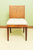 Sofa furniture weave bamboo chair Royalty Free Stock Photography