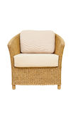 Sofa furniture weave bamboo chair Royalty Free Stock Photos