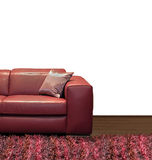 Sofa half Royalty Free Stock Image