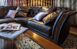 Sofa in home Interior Stock Photography