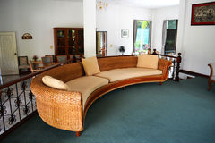 Sofa in home Stock Photography