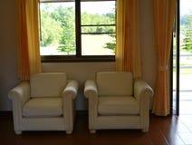 Sofa in home Stock Photos