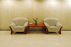 Sofa in the hotel Stock Photography