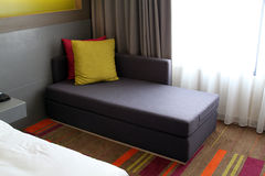 Sofa at Hotel Room Royalty Free Stock Images