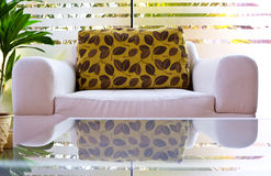 Sofa in house Stock Photography