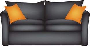 Sofa illustration Stock Image