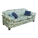 Sofa im Wohnzimmer Stockfotos