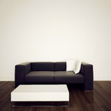 Sofa In Modern Interior With 3d Rendering Stock Photo