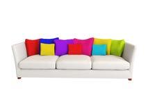 Sofa - Innenraum Stockbild