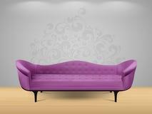 Sofa - intérieur à la maison Photos stock