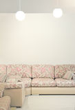 Sofa intérieur Photos libres de droits