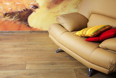 Sofa in an interior Royalty Free Stock Images