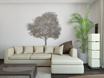 Sofa in interior Stock Photo