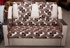 Sofa of interior Royalty Free Stock Photo