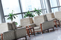 Sofa interior of modern building Stock Image