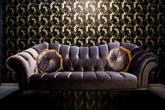 Sofa - interiors Royalty Free Stock Photography