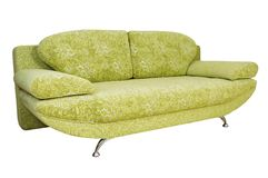 Sofa (isolated) Royalty Free Stock Photo