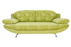 Sofa (isolated) Royalty Free Stock Image