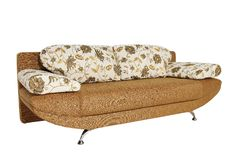 Sofa (isolated) Royalty Free Stock Photos